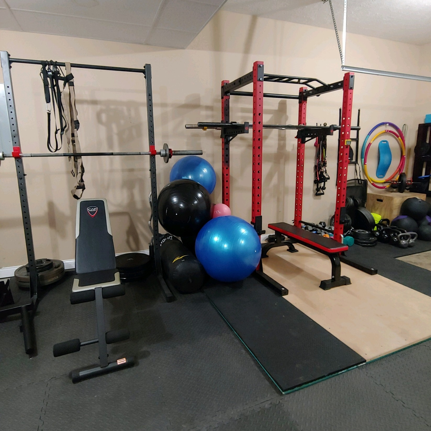Garage gym u fernweh fitness