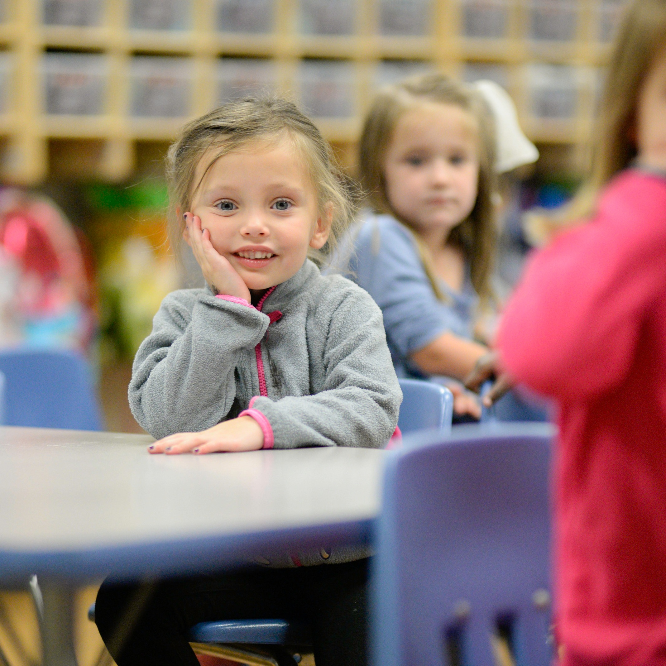 Preschool Care - In the following classrooms, mornings include a Bible lesson taught by the Director. Daily Bible class is a time both students and teachers look forward to and includes a Bible story, catechism, Bible memory verses, Bible songs, prayer and character trait lessons.