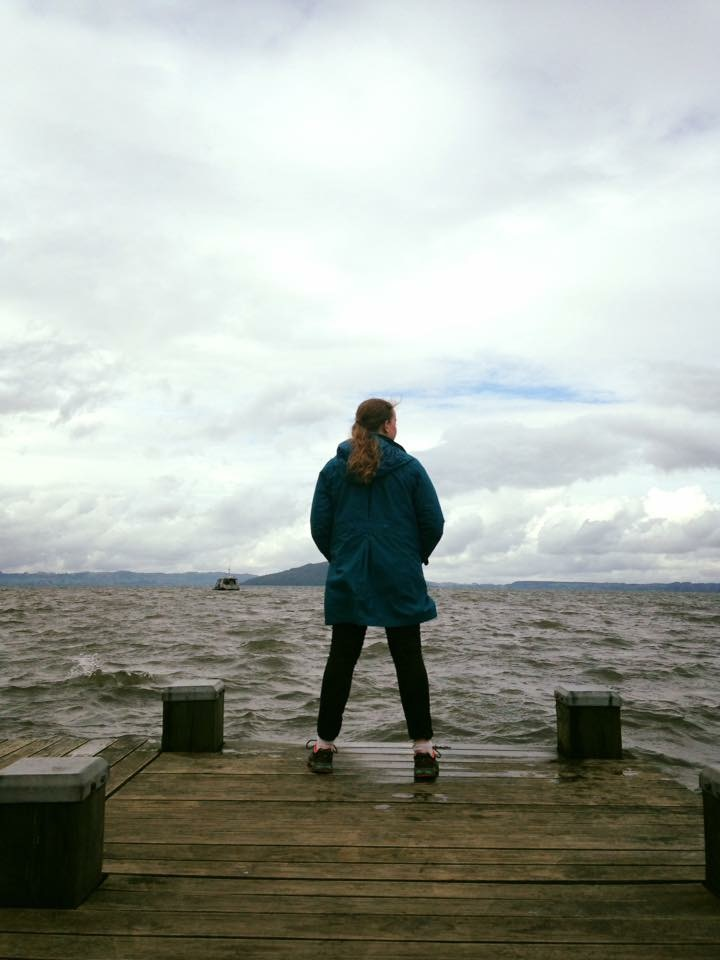 Travelling is a passion of mine. Here I am at Lake Rotorua in New Zealand.
