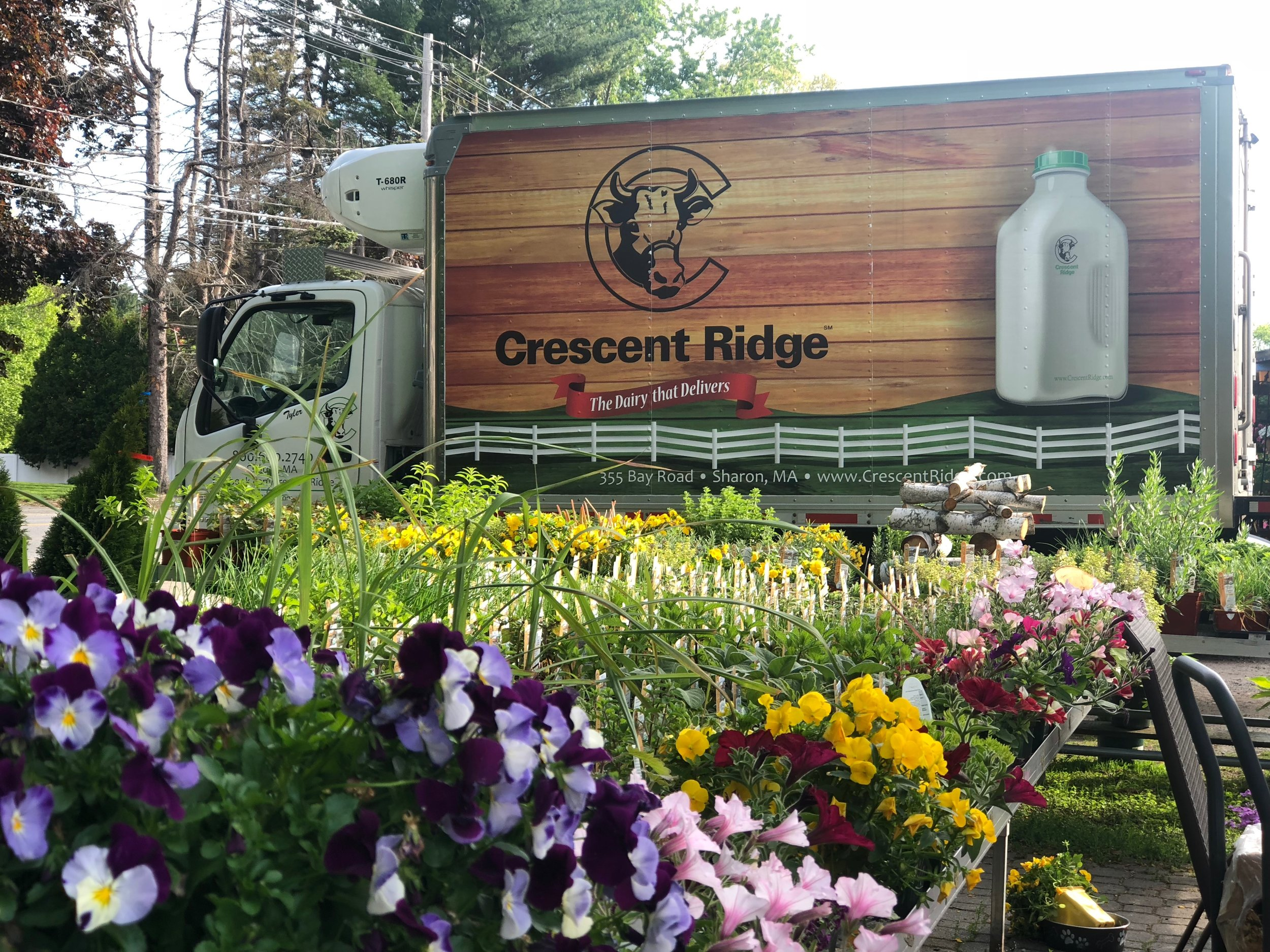 crescent Ridge is delivering farm fresh milk - to the farmstand every Thursday