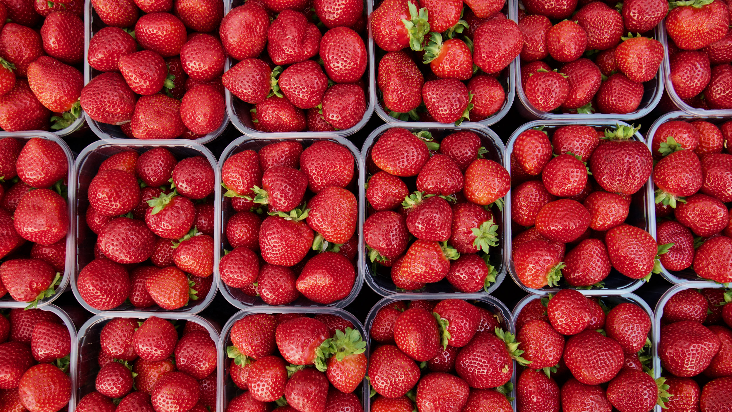 STRAWBERRIES ARE HERE! - FRESH LOCAL STRAWBERRIES HAVE ARRIVED AT THE FARM FROM NOURSE FARM WHATLEY, MA