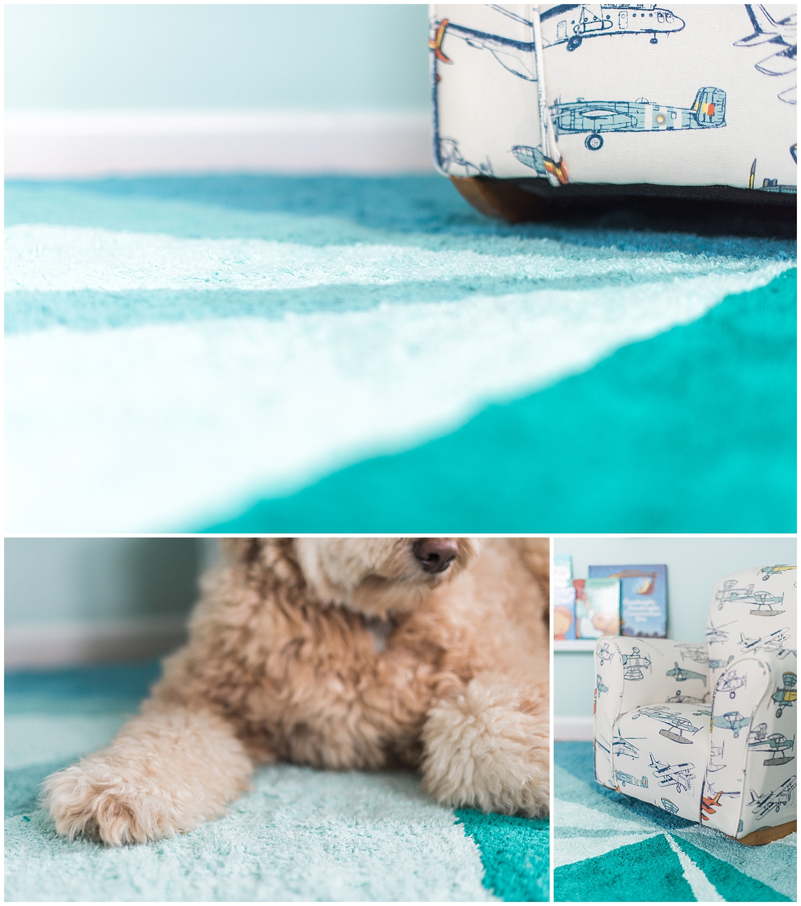 Toddler Reading Nook | Lorena Canals Washable Rug | Coconut and Rain