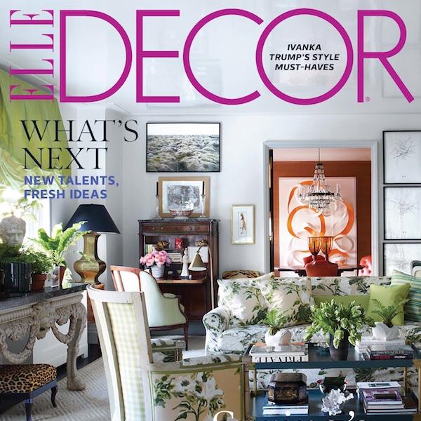 Elle Decor Magazine // 2016