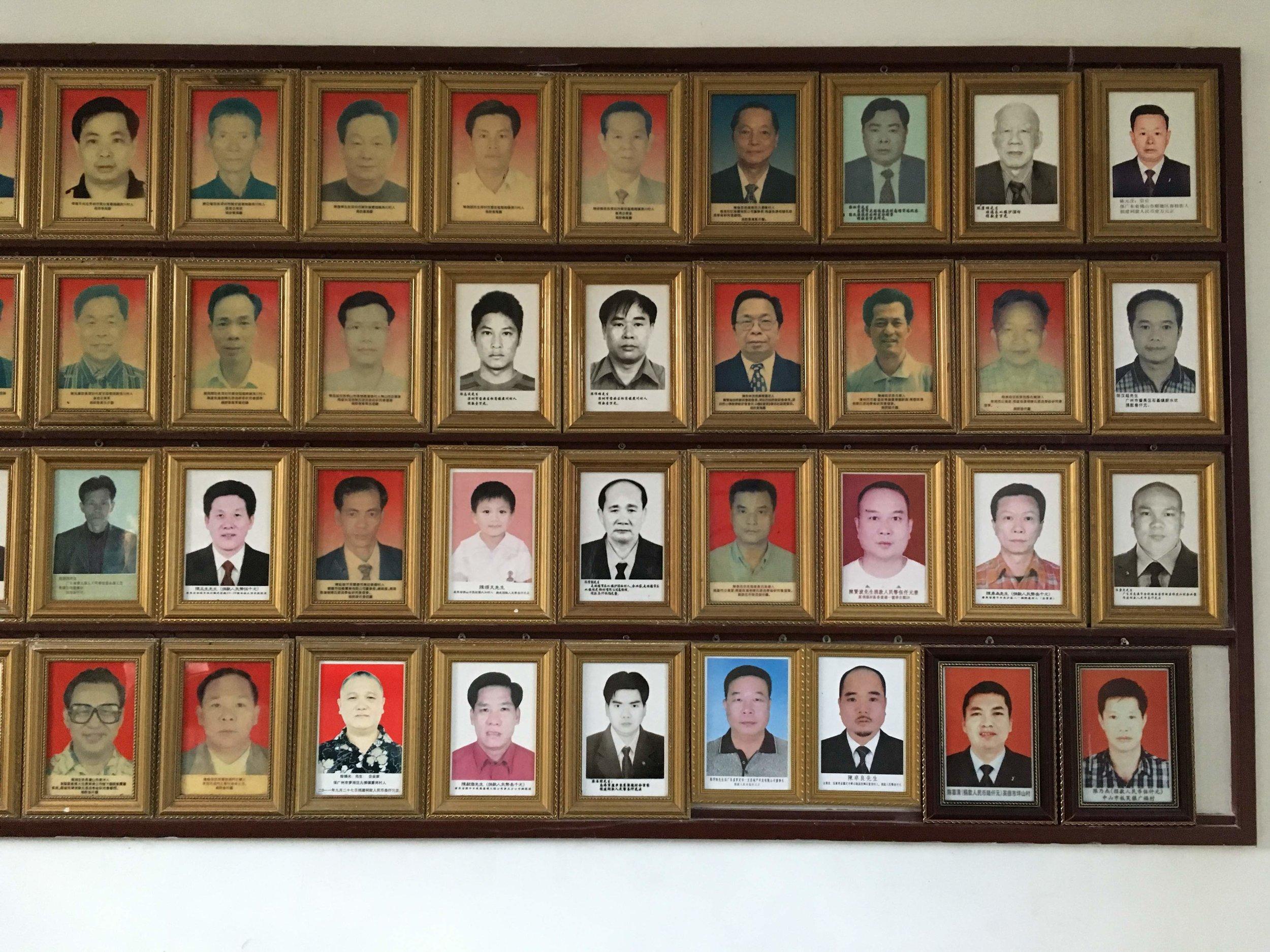 Photos of generous Chans