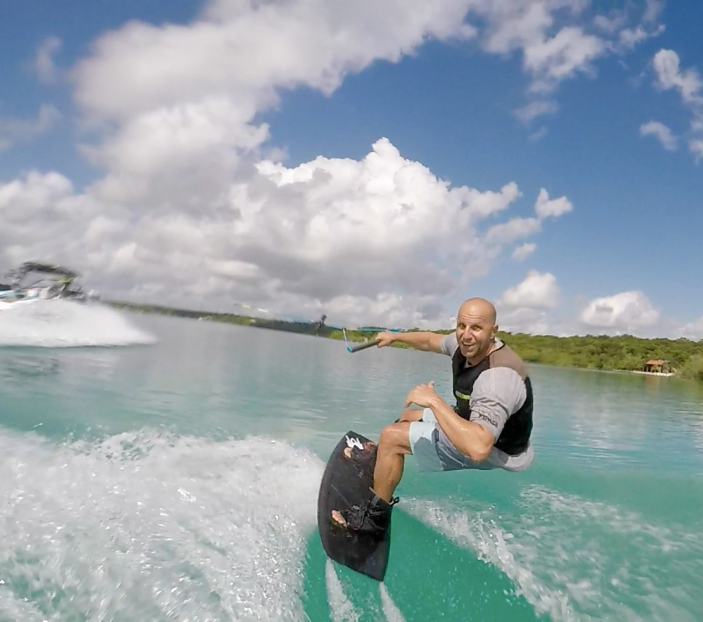 Chad Lowe Wakeboarding