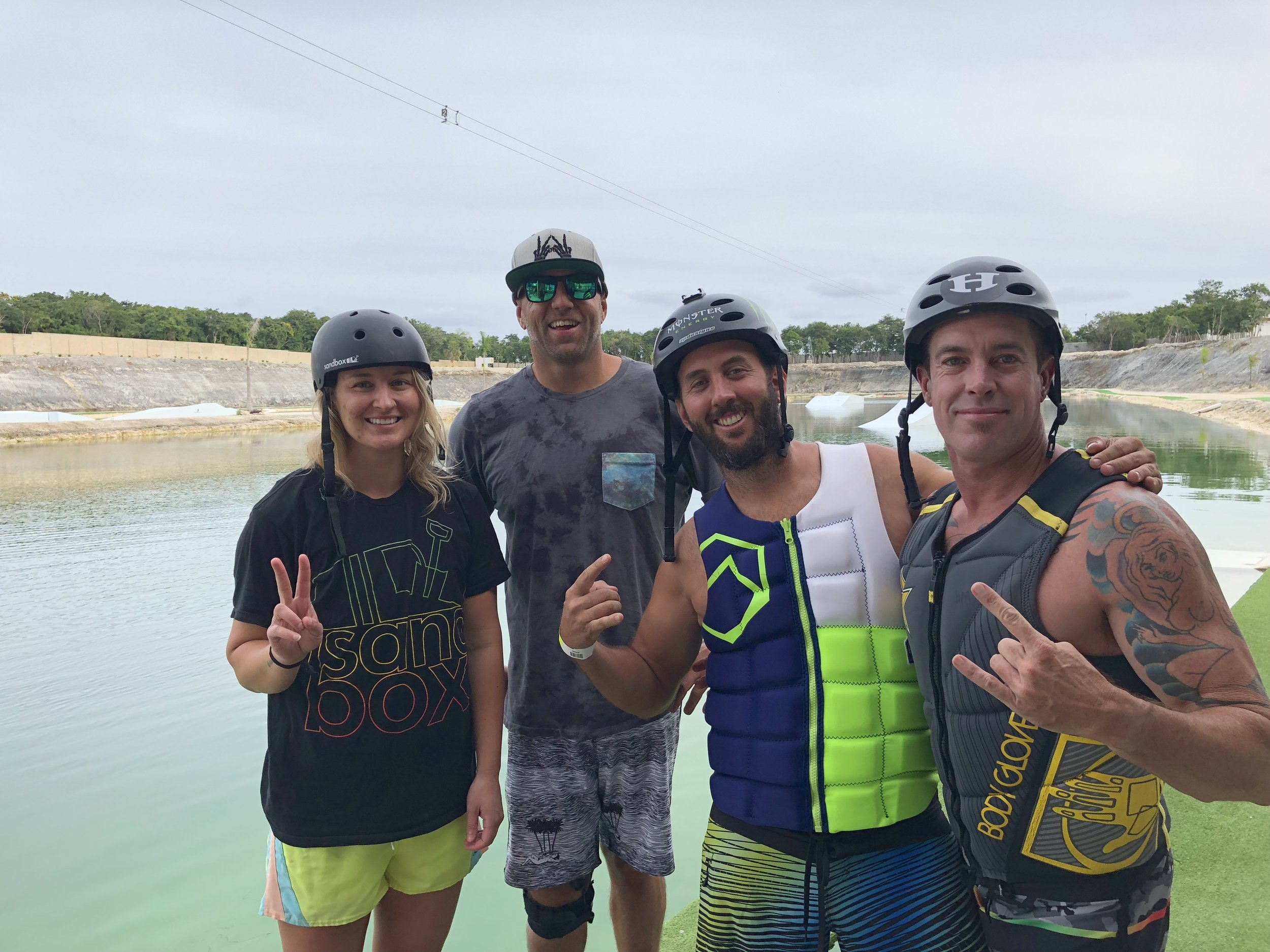 Chad Lowe Corporate Clinic Wakeboarding