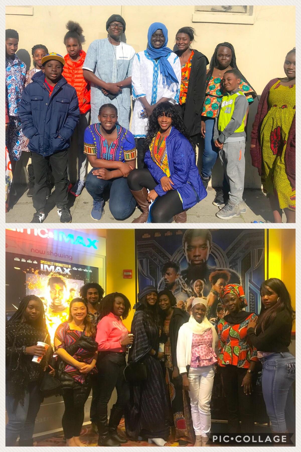 We went to WAKANDA, Black Panther movie screening February 2018