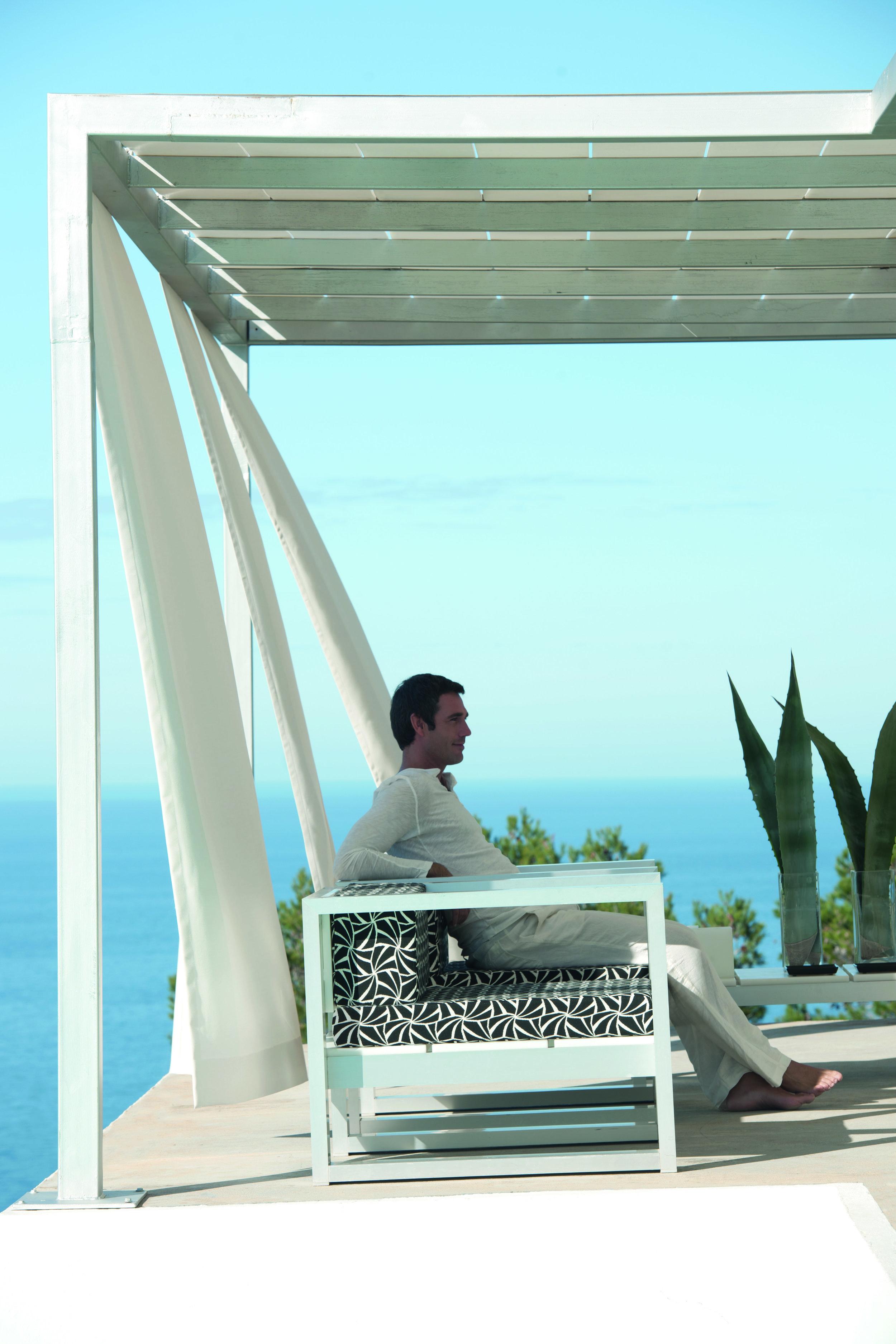 beautiful summer terrace