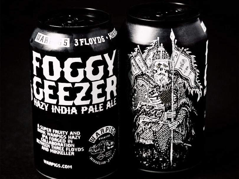Foggy Geezer - A HAZY, FRUITY + HEAVILY DRY-HOPPED IPAABV 6.8% IBU 70