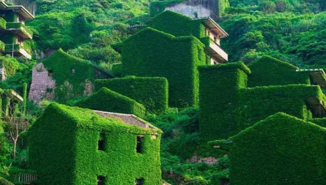 - The Abandoned Fishing Village of Houtouwan, China.