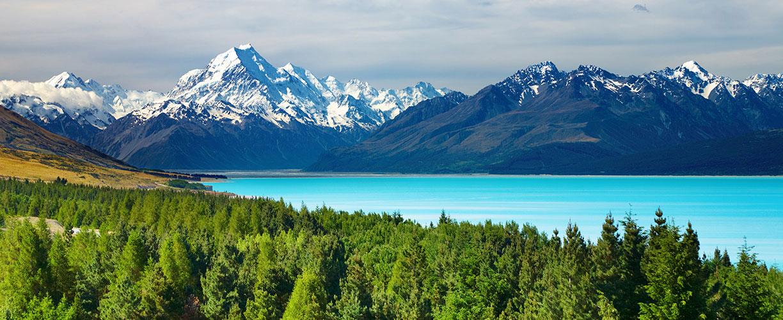 New Zealand Mount Cook and Pukaki Lake.jpg