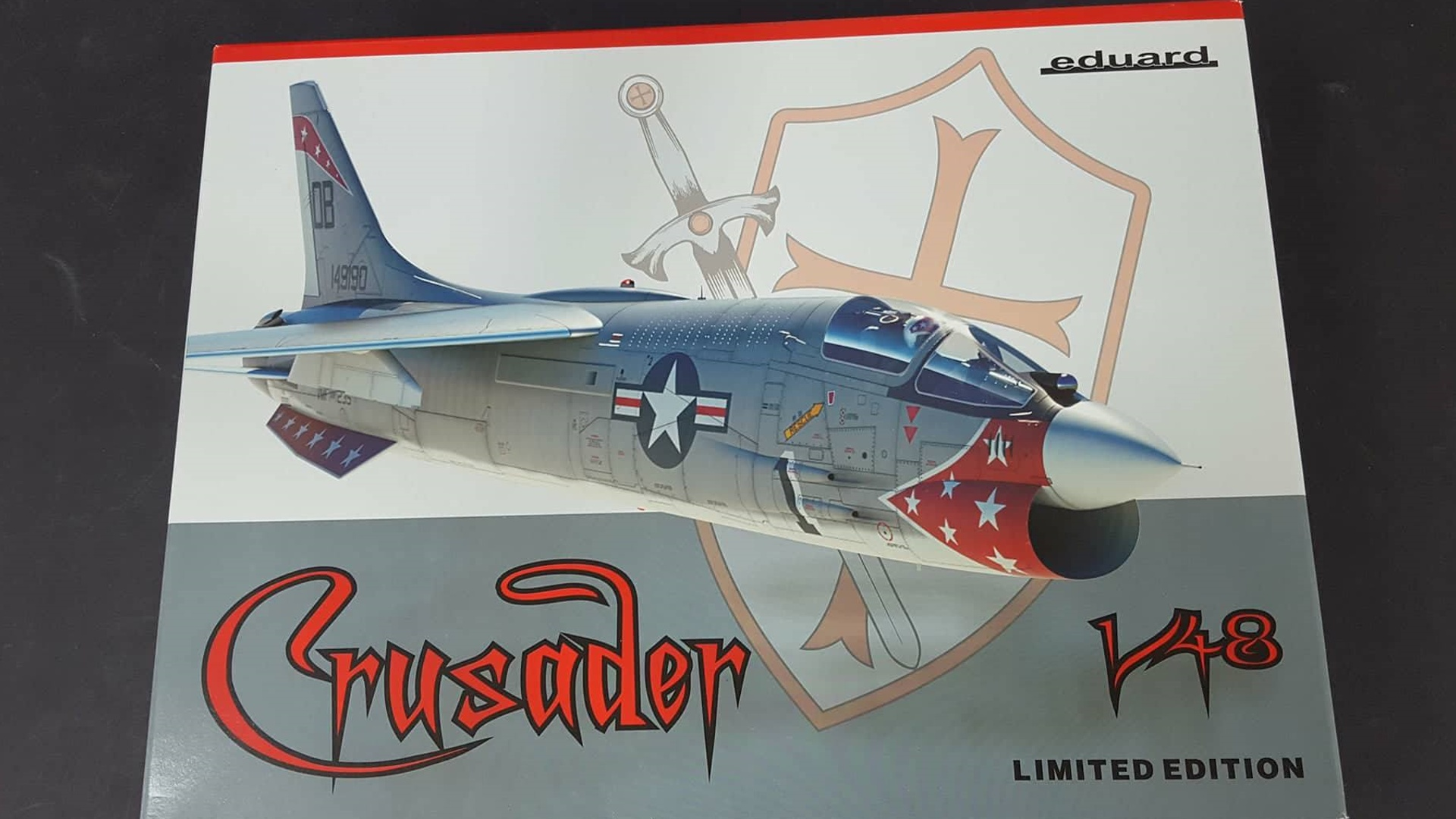 F-8 Crusader Scale: 1/48   Manufacturer: Hasegawa (Eduard Re Box)   Parts used: Out Of The Box   Main paints used: Tamiya,MRP,Hataka