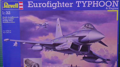 Euro Fighter Typhoon FGR4 Scale: 1/32   Manufacture: Revell   Parts used: OOB with Scale Magic Lighting System   Main paints used: Tamiya and Gunzo