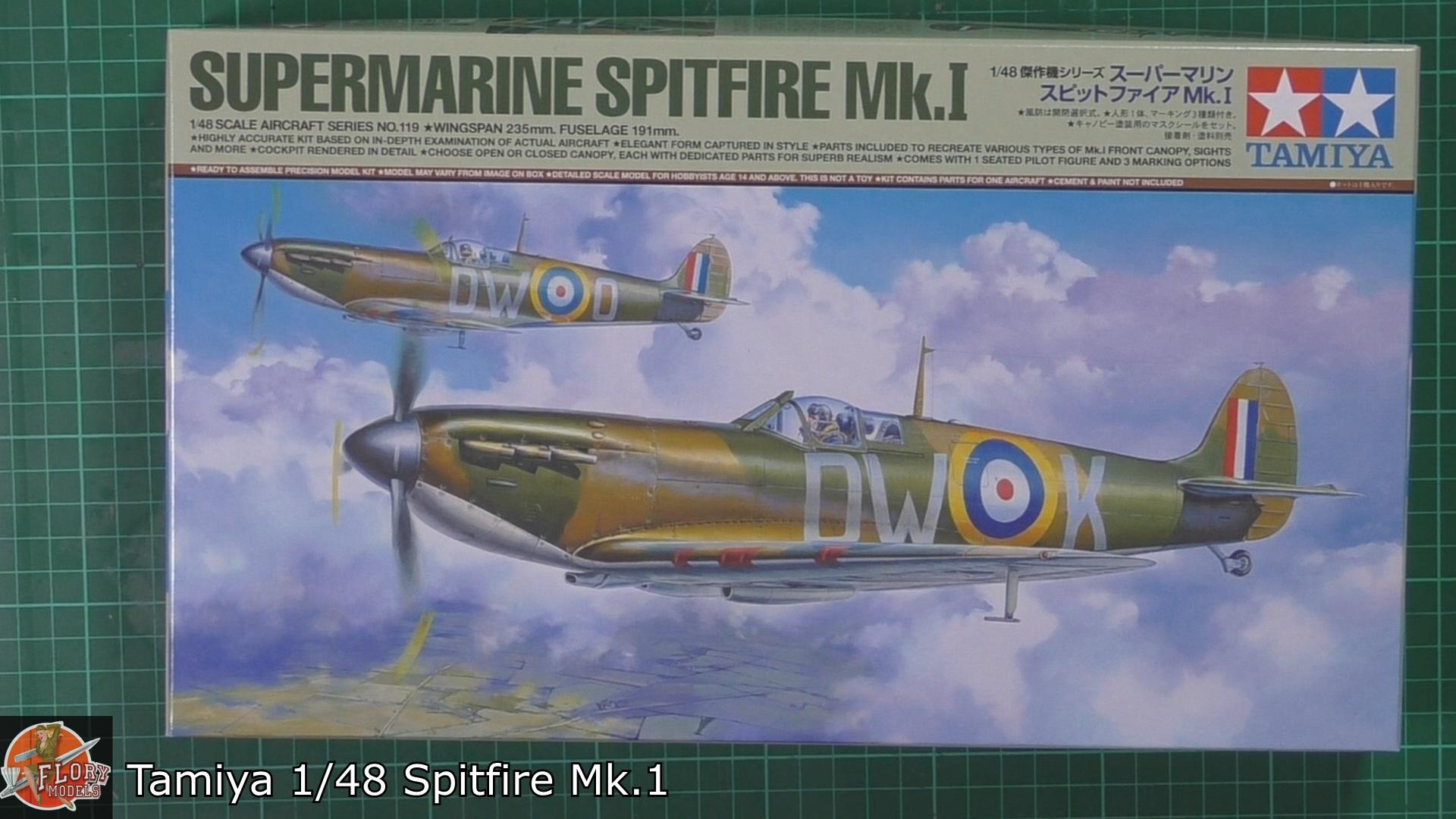 Tamiya 148 Spitfire Mk1.jpg