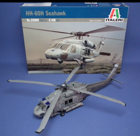 HH-60H Seahawk Scale: 1/48   Manufacture: Italeri   Parts used: Out of the box   Main paints used: Tamiya and Vallejo