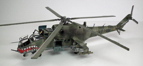 Mi-24 Hind Scale: 1/35   Manufacture: Trumpeter   Parts used: Eduard Big Edd set   Main paints used: Tamiya and Gunze
