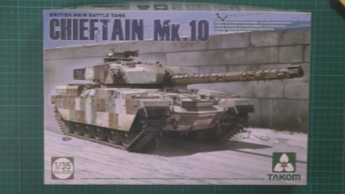 Chieftain Mk.10 Scale: 1/35   Manufacture: Takom   Parts used: Out of The Box, Master Club MTL35079 Tracks   Main paints used: AK, Tamiya & Vellejo