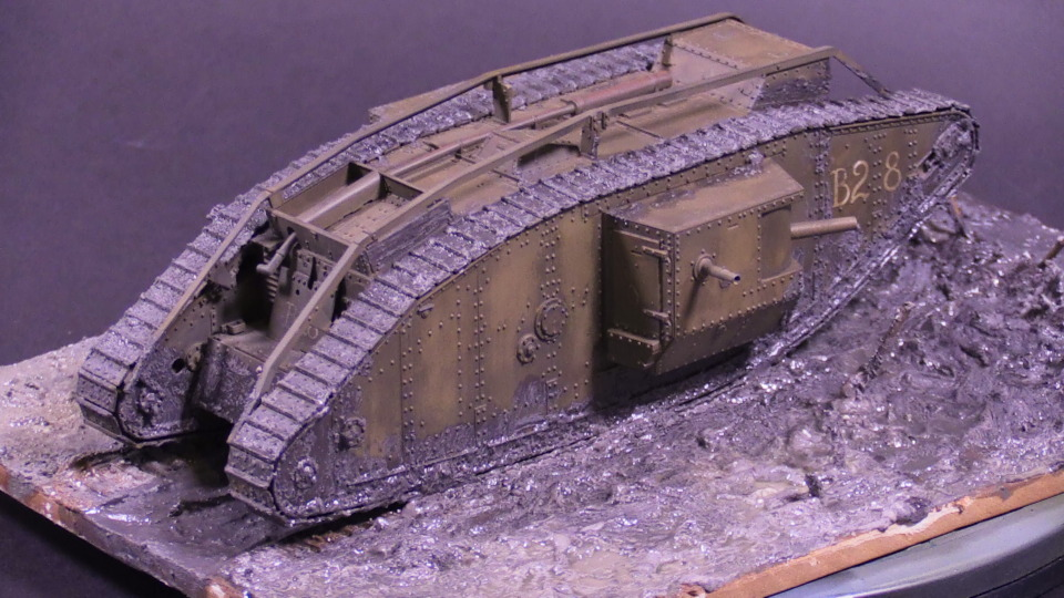 Mk IV British Tank Scale: 1/35   Manufacture: Tamiya   Parts used: Out of the box   Main paints used: Tamiya and Gunze