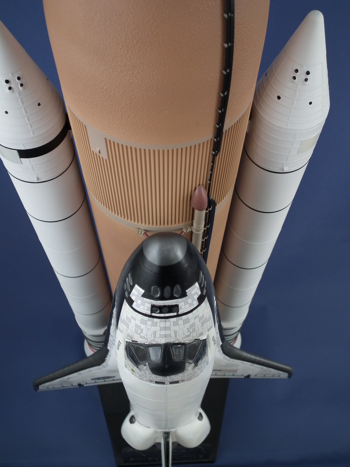 STS-135 Space Shuttle Scale: 1/72   Manufacture: Revell   Parts used: After market decals and stand   Main paints used: Tamiya and Vallejo