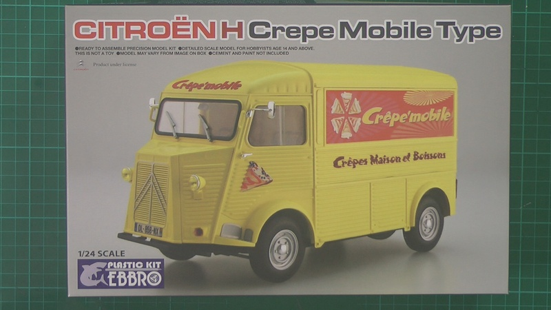 Citroen H Van Scale: 1/24   Manufacturer: Ebbro   Parts used: Out Of The Box   Main paints used: Tamiya and Xtream Metals