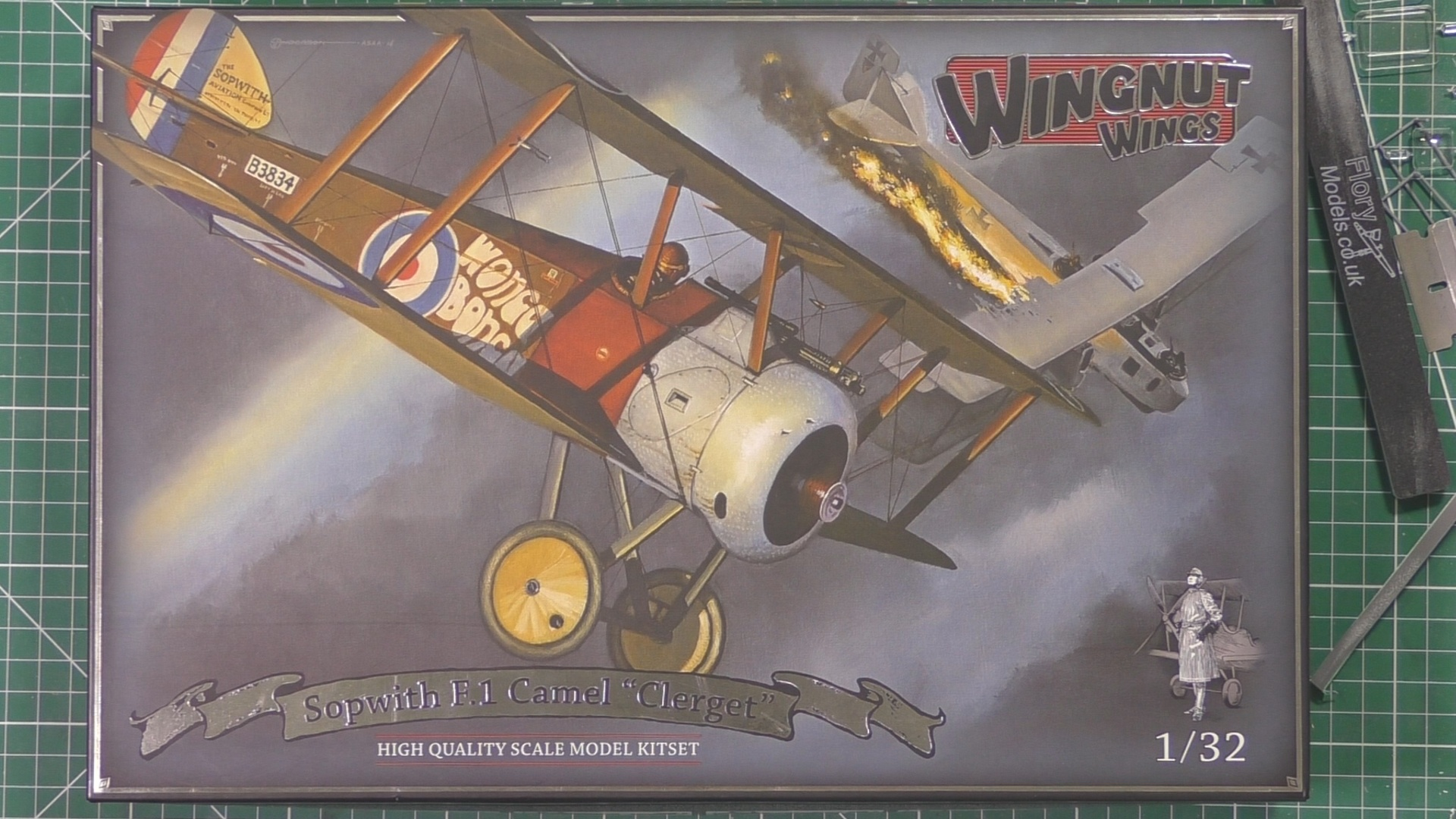 Sopwith Camel   Scale: 1/32   Manufacturer: Wing Nut Wings   Parts used: Out Of The Box   Main paints used: Tamiya and Xtream Metals