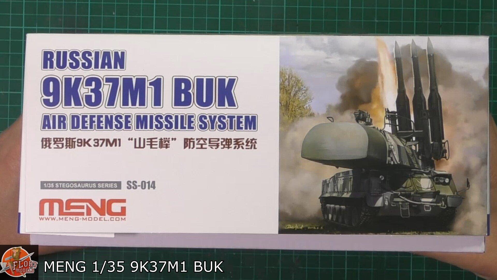 Meng 1/35 9K37M1 Buk SA-11-SA17   Scale: 1/35   Manufacturer: Meng   Parts used: Out Of The Box   Main paints used: Tamiya and Hataka