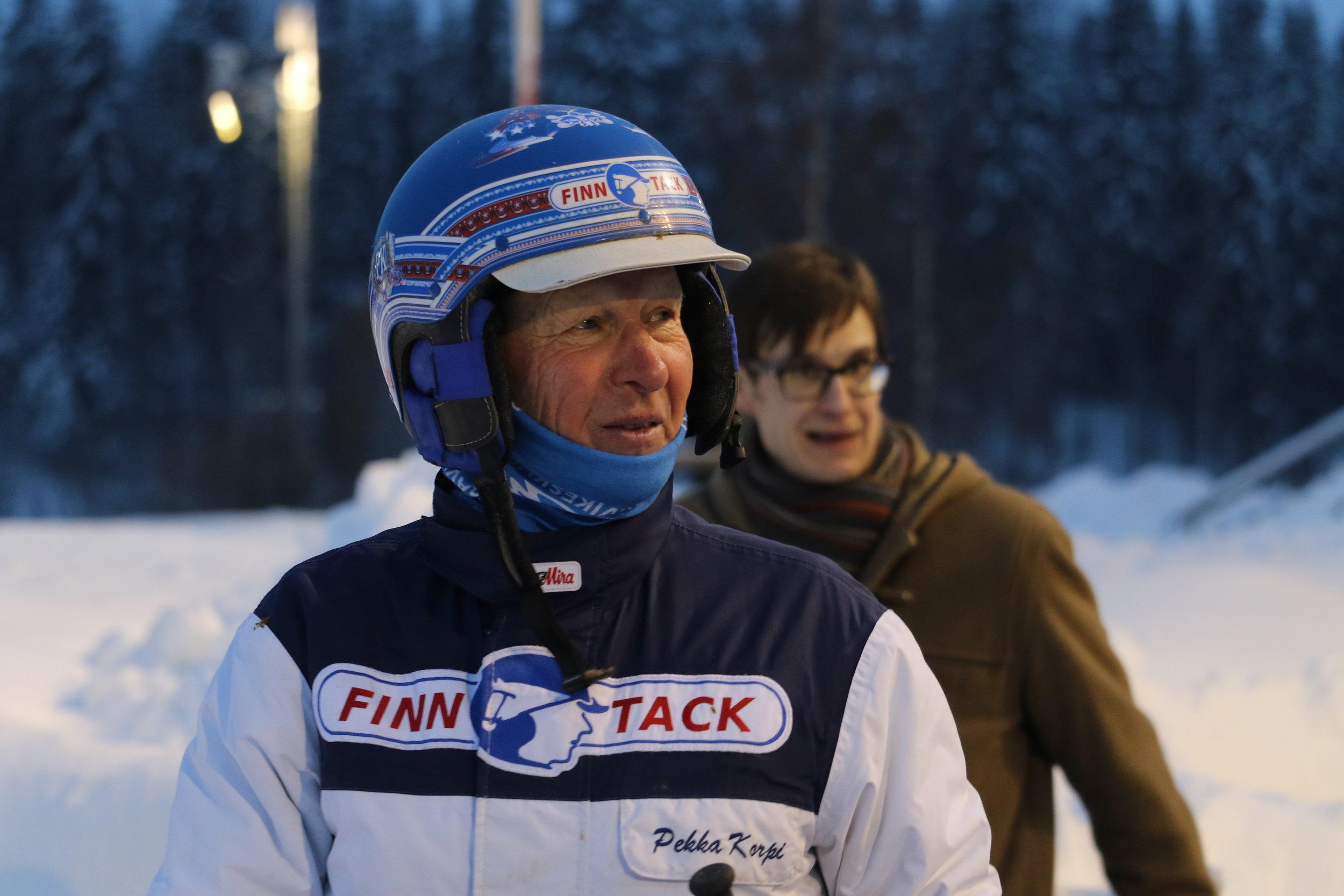 """Pekka korpi - Motto""""Jos luovuttaa, ei voi voittaa."""""""