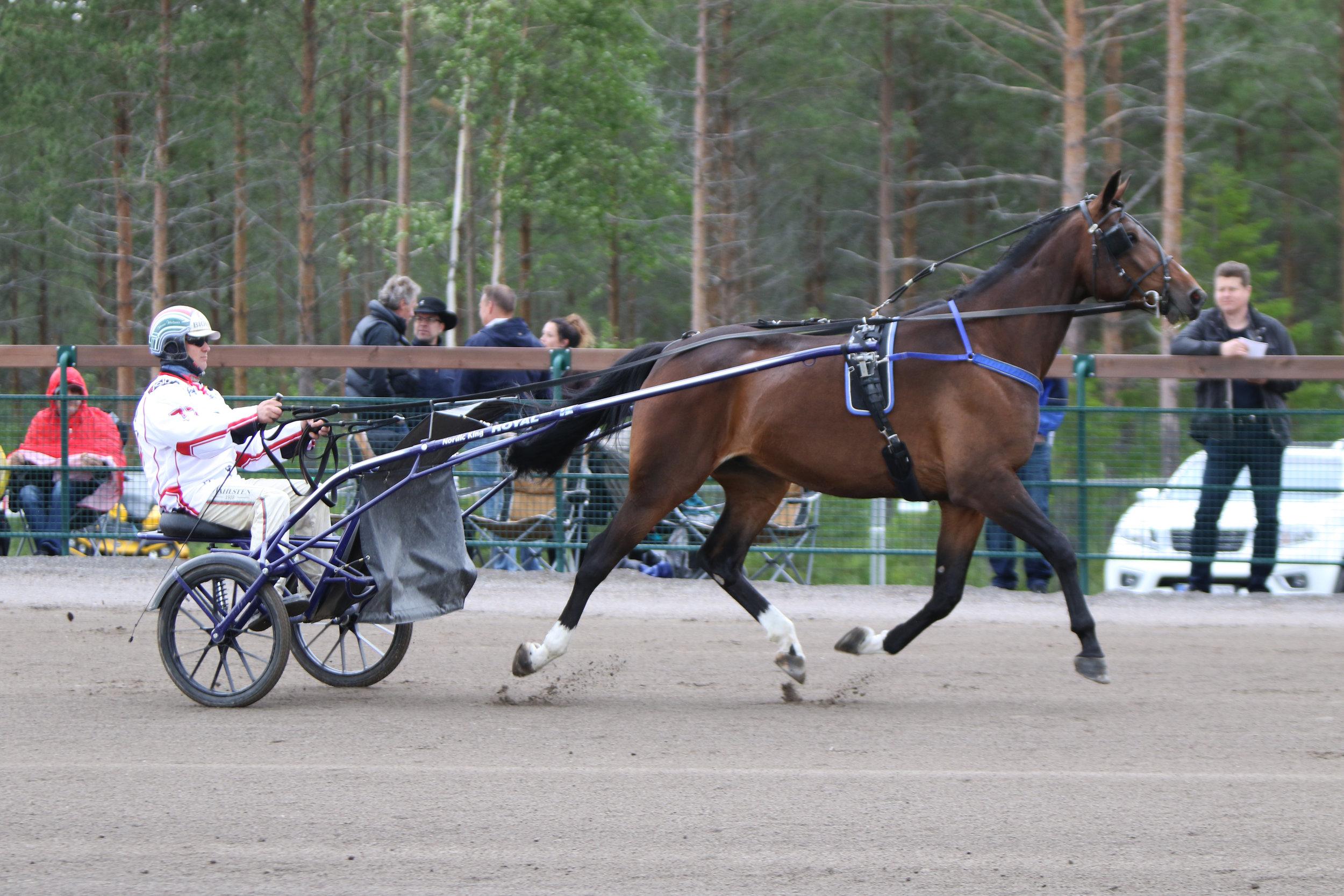 Beast Mode ja Hannu Hietanen Nordic King -raveissa. Kuva: Hippos / Hanna Laakso.