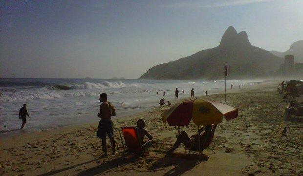 Coolgarif in Brazil for UKTI - Beach