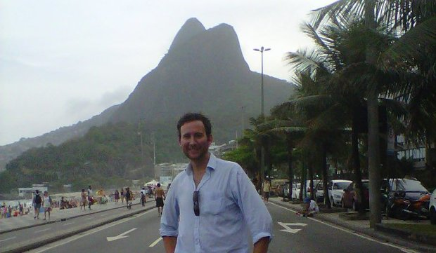 Coolgarif in Brazil for UKTI - Richie