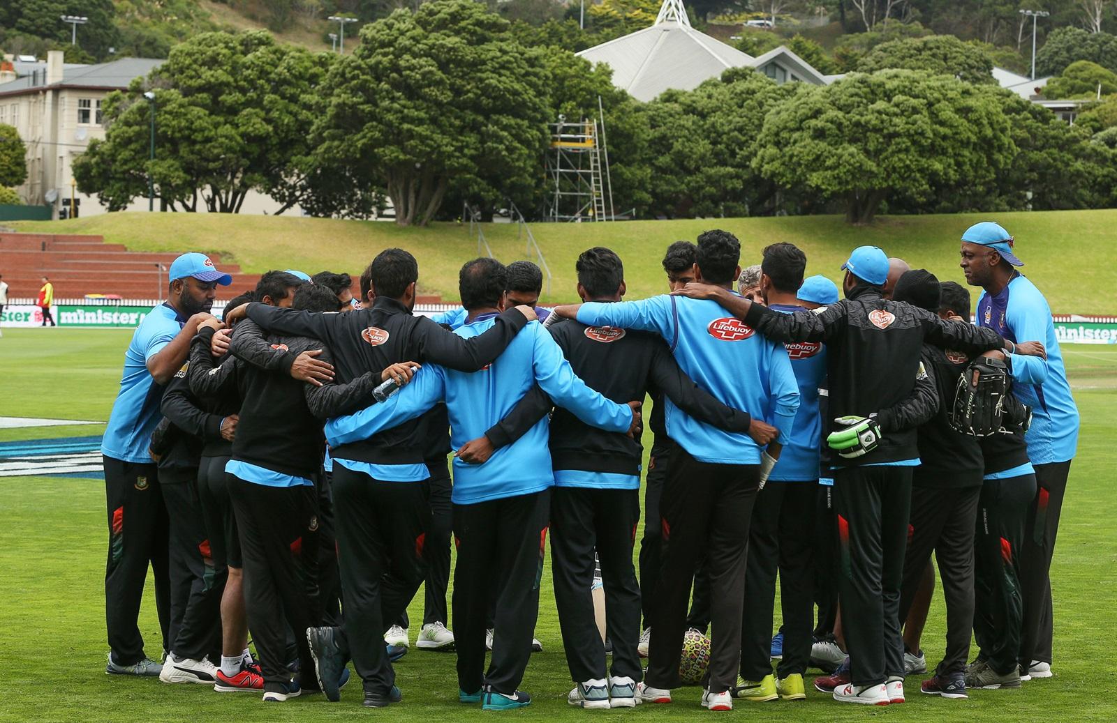 New Zealand cricket team mourns loss of 50 lives slain.