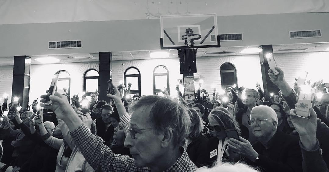Solidarity vigil in Washington, D.C.