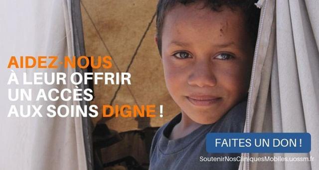 Ils viennent d'Alep, de la Ghouta, de Deraa, d'Idleb. Déplacés internes, ils ont dû fuir et ont tout perdu. Aidez-nous à leur offrir un accès aux soins digne ! Découvrez comment http://bit.ly/SoutenirCliniquesMobiles #Syrie #Santé #SauverDesVies