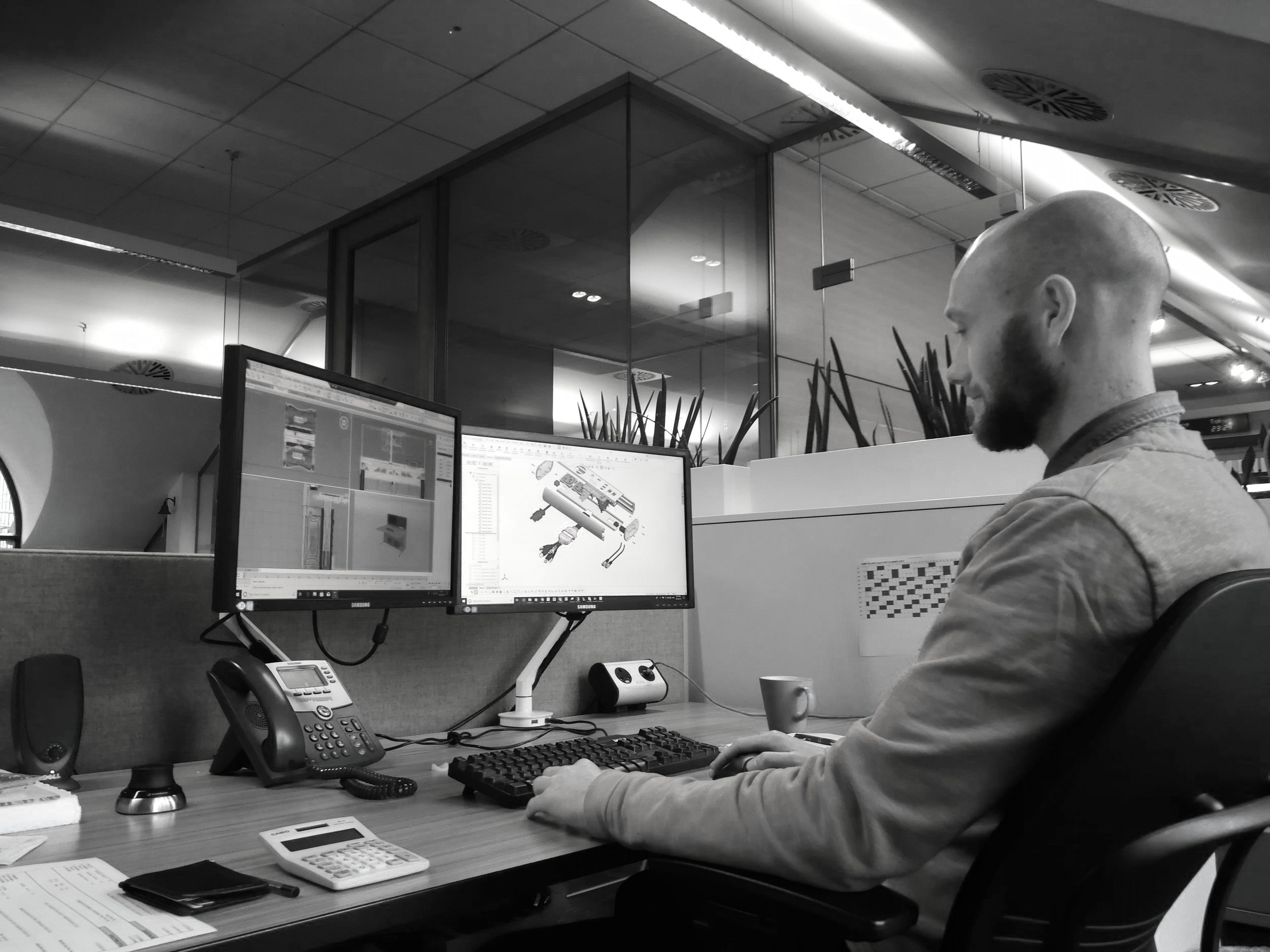 design - To maintain our market lead, our in-house design team innovate and create solutions on a project-by-project basis. We may utilise our established product range or develop a more custom solution, dependent on the project requirements.