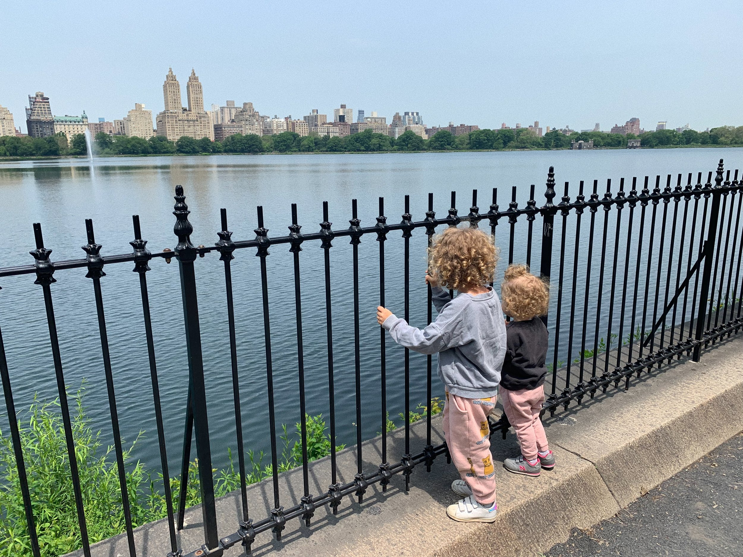 "Водният резервоар ""Жаклин Кенеди Онасис"" в Central Park"
