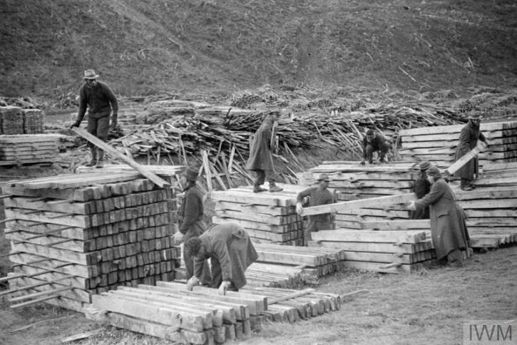 British Honduran Forestry Unit, 1942