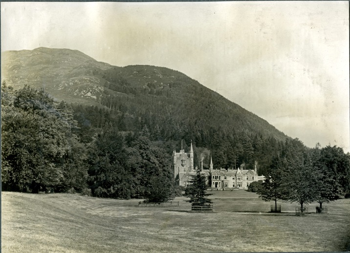 Benmore House in 1928 (Image:  Forestry Memories )