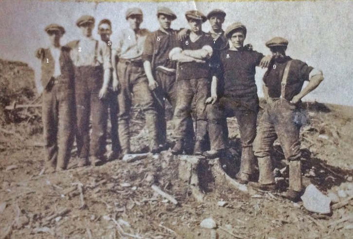 Glentress Forest workers, 1923