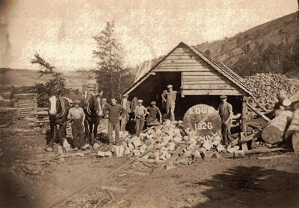 The Logg Sawmill, Fochabers, 1925