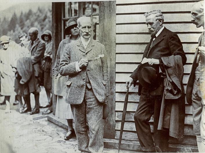 Opening of Puck's Glen, 1928