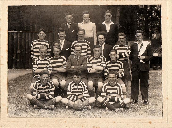 Beaufort Forestry School Football Team, 1928