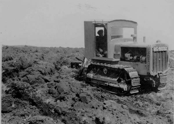 Ploughing at Clashindarroch, 1936