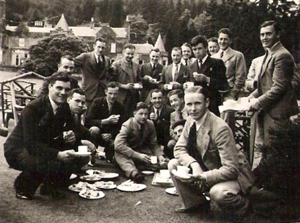 Students, Benmore Forestry School, 1936