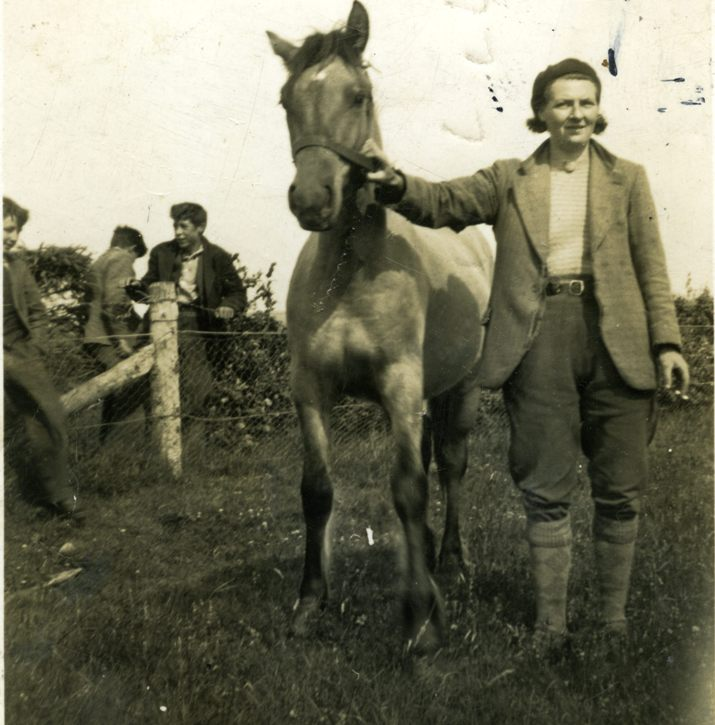Jessie Gordon at Findon, 1939