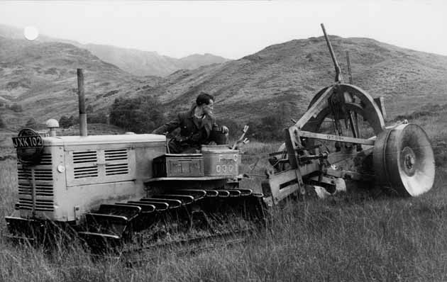 Fowler FT3 tractor, 1949