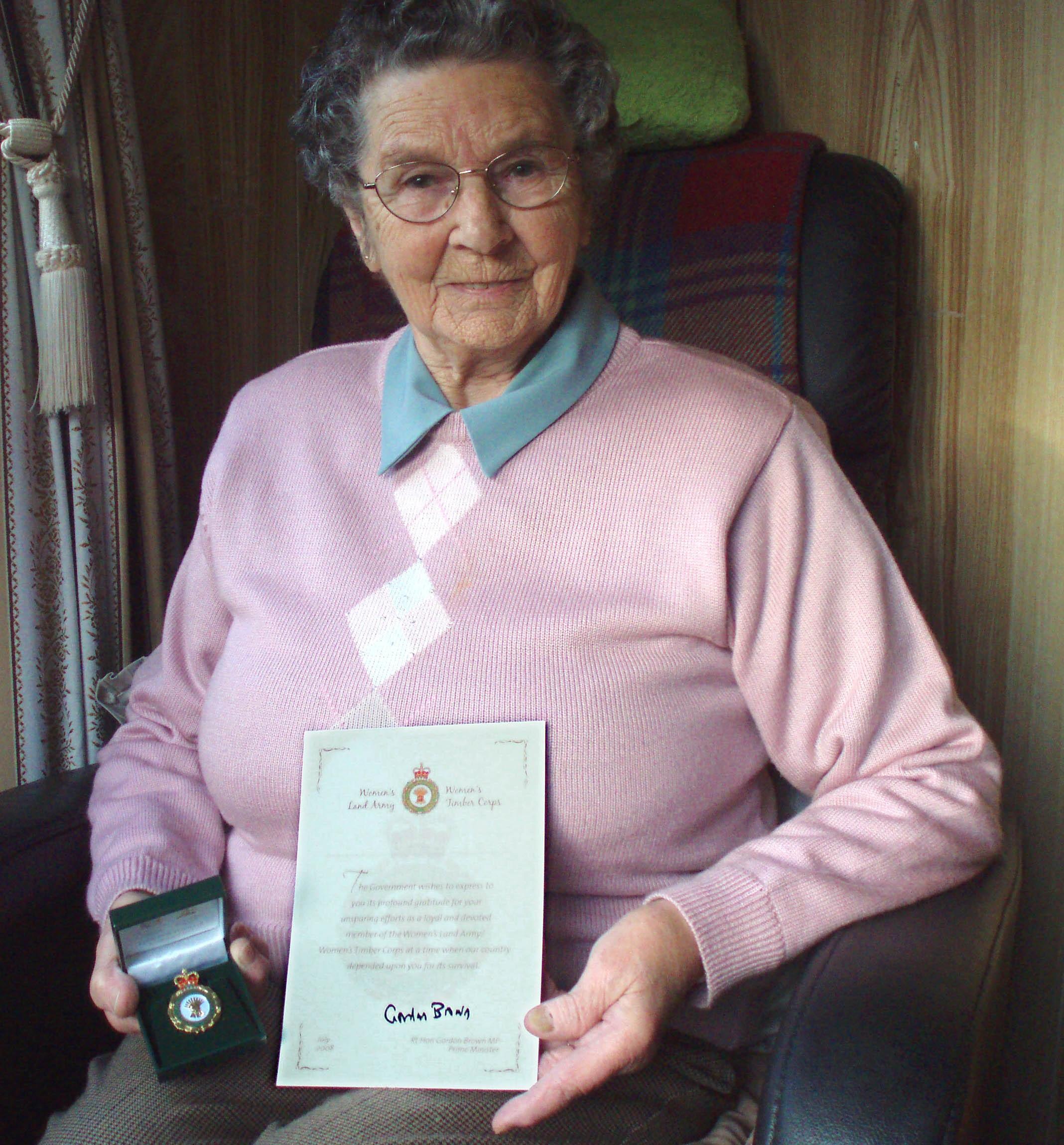 Margaret Angus, WTC member