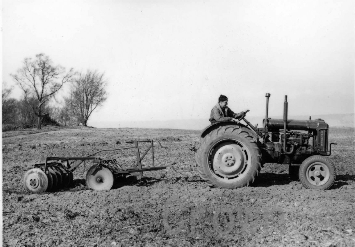 Fordson major tractor, 1950