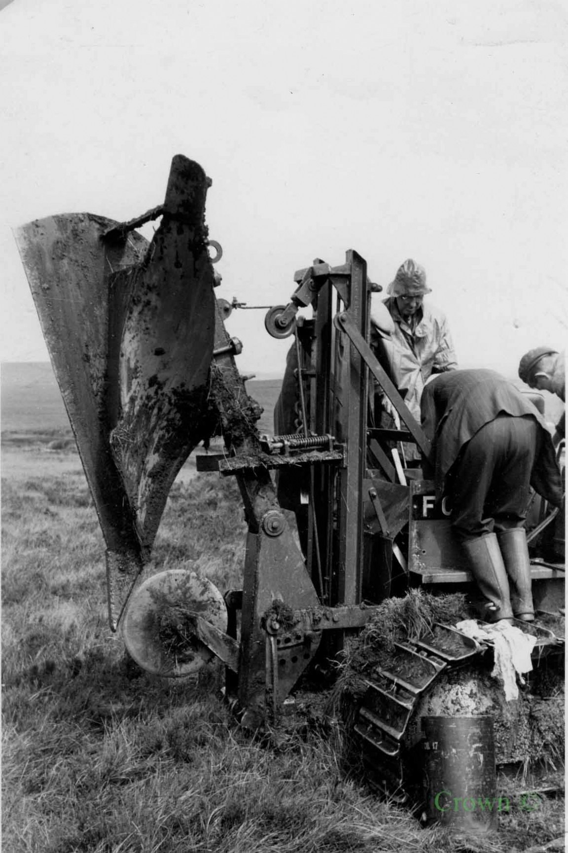 First mounted Tine-head plough, 1950