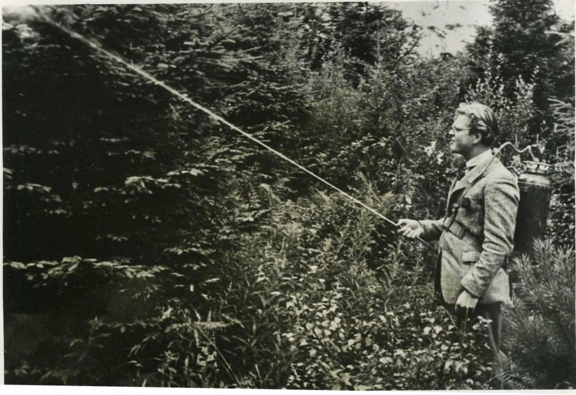 Fire Extinguisher Knapsack, 1951