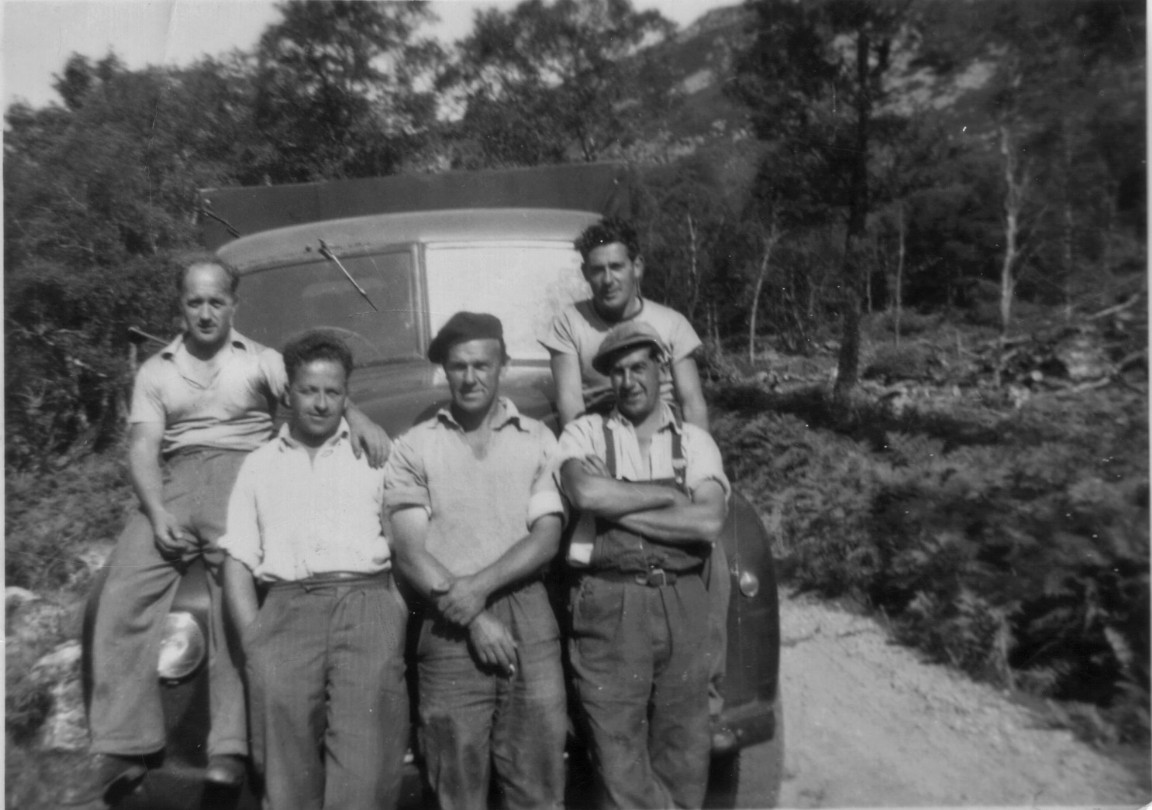 Ardross Forest Squad, 1955